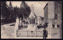 GOUVY Prov. De Luxembourg - Monument Interalliés - Hommage Aux Glorieux Morts Belges - Anglais ....- Guerre - 1914-1918 - Gouvy