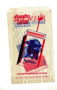 Sachet Publicite Cigarette Françaises Allumette Salon - Autres