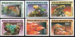 R.D. Du Congo 2002 - Minéraux - 6 Val ND Neufs // Mnh Imp. - République Démocratique Du Congo (1997 -...)