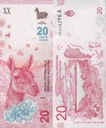 Argentina 2017 - 20 Pesos Pick-NEW UNC New Design - Argentine