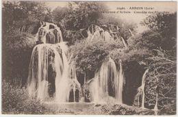 CPA:  ARBOIS  (Dpt.39):  Environs D'Arbois  -Cascade Des Planches   (D2404) - Arbois