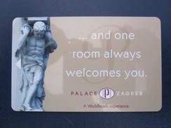 HOTEL MOTEL INN CLUB PALACE ZAGREB CROATIA  KEY TOWEL CARD - Etiketten Van Hotels