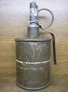 Polish Practic RG 42 Grenade ,Inert - Armes Neutralisées