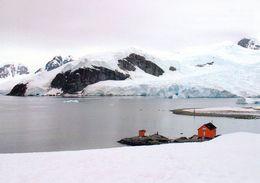 1 AK Antarctica Antarktis * Blick Auf Die Argentinische Station Almirante Brown - Paradise Harbour, Danco Coast - Ansichtskarten