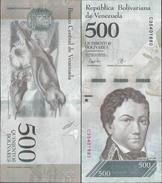 Venezuela 2017 - 500 Bolivares - Pick NEW UNC - Venezuela