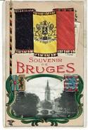 Cpa De Belgique Avec Petits Images - Belgische Postkaart Met Kleine Afbeeldingen LEG 4 - Petite Deshire - Kleine Scheur - Brugge