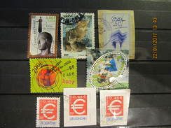Frankreich Mix Set Stamps Of 1999 France Francia Frankrijk Small Selection Of Fine Used 376 - Frankreich