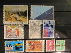 Frankreich Mix Set Stamps Of 1996 France Francia Frankrijk Small Selection Of Fine Used 382 - Frankreich