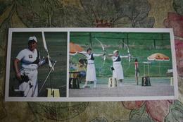 Old Postcard - ARCHERY - USSR OLYMPIC CHAMPION Losaberidze -  1981 ARCH - ARCHER - Tir à L'Arc