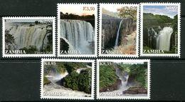 Zambia 2014 Waterfalls Of Zambia Set MNH (SG 1152-57) - Zambia (1965-...)