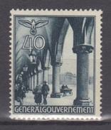 Deutsches Reich (Generalgouvernement) / Freimarken: Bauwerke /  MiNr.: 47 - Deutschland