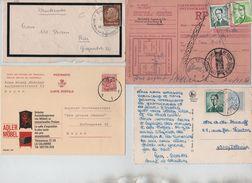 Cantons De L'Est-Ostkanton 8 Doc.dont Griffe Weywertzrecommandés Baudouin Lunettes-Poortman AP1251 - Belgique