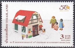Thailand Siam 2003 Wirtschaft Geldwesen Banken Sparen Bausparen Bausparkasse, Mi. 2200 ** - Thailand