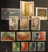 Frankreich Mix Set Stamps Of 1994 France Francia Frankrijk Small Selection Of Fine Used 894 - Frankreich