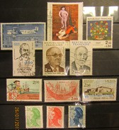 Frankreich Mix Set Stamps Of 1994 France Francia Frankrijk Small Selection Of Fine Used 895 - Frankreich
