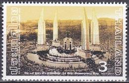 Thailand Siam 2003 Gesellschaft Geschichte Demokratie Politik Studenten Proteste Denkmal Denkmäler, Mi. 2211 ** - Thailand