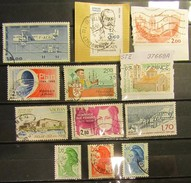 Frankreich Mix Set Stamps Of 1994 France Francia Frankrijk Small Selection Of Fine Used 897 - Frankreich