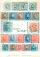 Willy Balasse 1037-1039 Auktion 1972 - Auktionskataloge