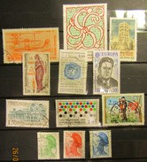Frankreich Mix Set Stamps Of 1995 France Francia Frankrijk Small Selection Of Fine Used 901 - Frankreich