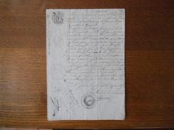 LA CHAUSSEE MARNE LE MAIRE GOBILLARD COURRIER DU 29 JANVIER 1850 PUBLICATION DE MARIAGE DURSAULT-COSSENET - Manuscrits