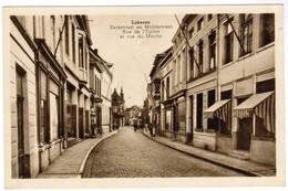 Lokeren, Kerkstraat En Molenstraat (pk41318) - Lokeren