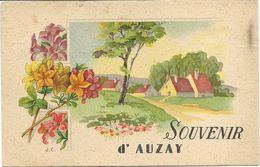 85  AUZAY  SOUVENIR  D  AUZAY - Autres Communes
