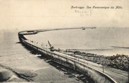 BELGIQUE - FLANDRE OCCIDENTALE - ZEEBRUGGE - Vue Panoramique Du Môle. - Zeebrugge