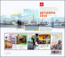 Belgium BL 169** -  Antwerpia 2010   MNH - Blocks & Kleinbögen 1962-....