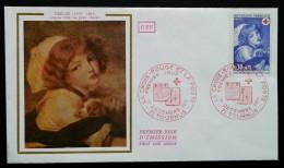 FDC 1971 - YT N°1700 - CROIX ROUGE - TOURNUS - FDC