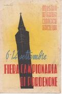 Fiera Campionaria Di Pordenone 1947 - Pubblicitari