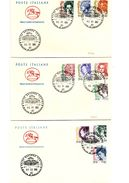 FDC007 - ITALIA REPUBBLICA 2002 DONNE NELL'ARTE 10 VALORI SU FDC - 6. 1946-.. Repubblica