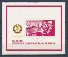 DDR/East Germany/Allemagne Orientale 1984 Mi: Block 78 Yt:  (Gebr/used/obl/o)(2858) - [6] Oost-Duitsland