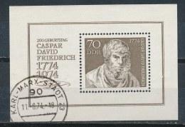 DDR/East Germany/Allemagne Orientale 1974 Mi: Block 40 Yt:  (Gebr/used/obl/o)(2863) - [6] Oost-Duitsland