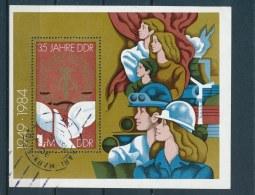 DDR/East Germany/Allemagne Orientale 1984 Mi: Block 79 Yt:  (Gebr/used/obl/o)(2870) - [6] Oost-Duitsland