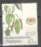"""Malaysia Wilayah Persekutuan Used 2002 Farming - Value In """"sen"""" Piper Nigrum - Malaysia (1964-...)"""