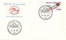 FDC013 - ITALIA REPUBBLICA 2011 PRIORITARI SU FDC - 6. 1946-.. Repubblica
