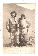 CPA Albanie Couple D'ALBANAIS 1918 - Albania