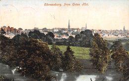 Angleterre - Shropshire - Shrewsbury From Coton Hill 1907 - Shropshire