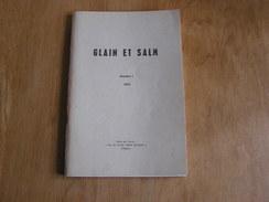 GLAIN ET SALM N° 1 Régionalisme Ardenne Vielsam Provedoux Guerre 14 18 Wanne 40 45 Commanster Bihain Bovigny Fraiture - Culture