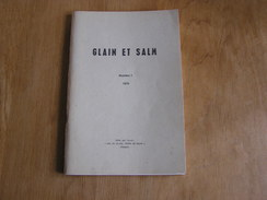 GLAIN ET SALM N° 1 Régionalisme Ardenne Vielsam Provedoux Guerre 14 18 Wanne 40 45 Commanster Bihain Bovigny Fraiture - Belgien