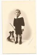 Enfant Au Chien - Portraits