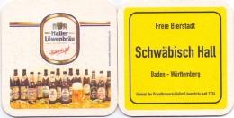#D180-080 Viltje Haller Löwen Bräu - Sous-bocks