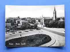 Cartolina Rimini - Piazza Tripoli - 1951 - Rimini
