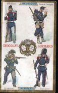 Chromo Chocolat Suchard, Belgique, Infanterie - Suchard