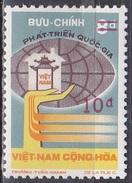 Südvietnam Vietnam South 1975 Gesellschaft Wirtschaft Entwicklung Fortschritt, Mi. 593 ** - Vietnam