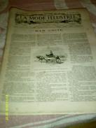 Journal De Famille La Mode Illustrée No  52 ( Supplement Avec Planche  De Tapisserie) De Lacker 33em Année 25 Dec 1892 - Mode