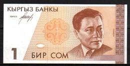 591-Kirghizistan Billet De 1 Sum 1994 AF161 Neuf - Kirghizistan