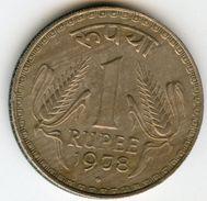 Inde India 1 Rupee 1978 (b) KM 78.1 - Inde