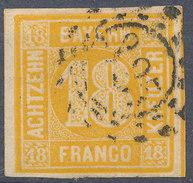 Stamp Bavaria 1850 18kr Used - Bayern (Baviera)