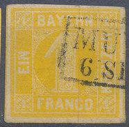 Stamp Bavaria 1862 1kr Used - Beieren